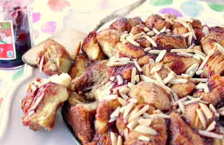 Easy Raspberry Spice Monkey Bread Recipe