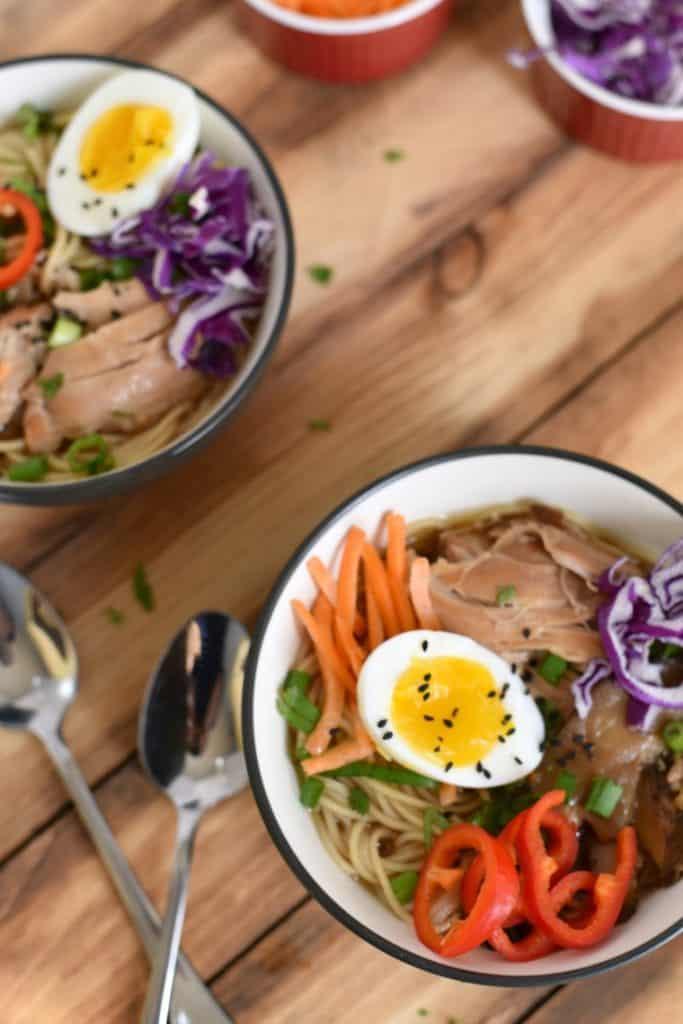 Crock Pot Chicken Ramen - Weekly Meal Planning