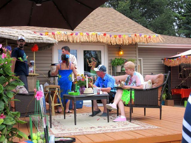 Backyard Luau 2015