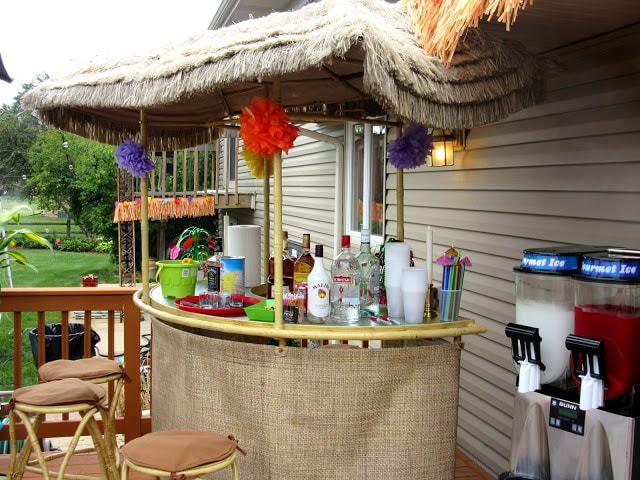 Tiki Bar and Luau 2015