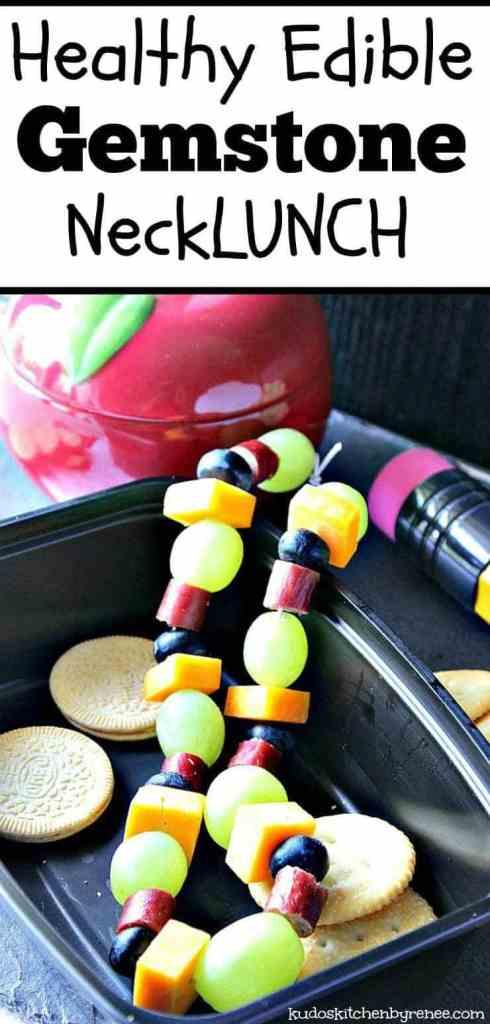 Healthy Edible Gemstone Necklace - kudoskitchenbyrenee.com
