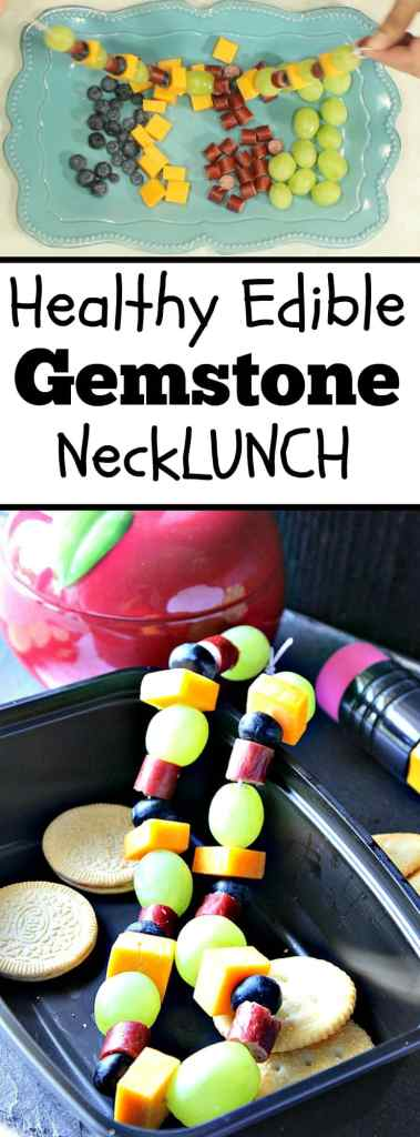 Healthy Edible Gemstone Necklace - Kudos Kitchen by Renee