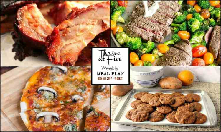 Weekly Meal Planning Featured Image Collage