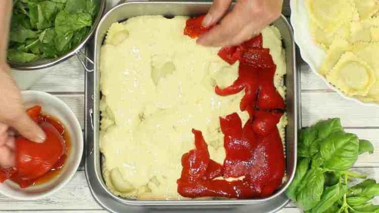 Company's Coming Alfredo Ravioli Lasagna | Kudos Kitchen by Renee