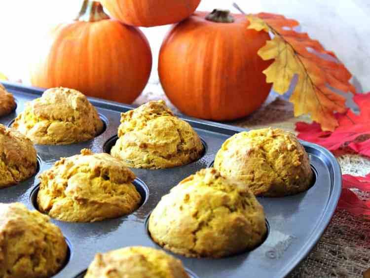Savory Pumpkin Sage Biscuit Recipe   Kudos Kitchen by Renee