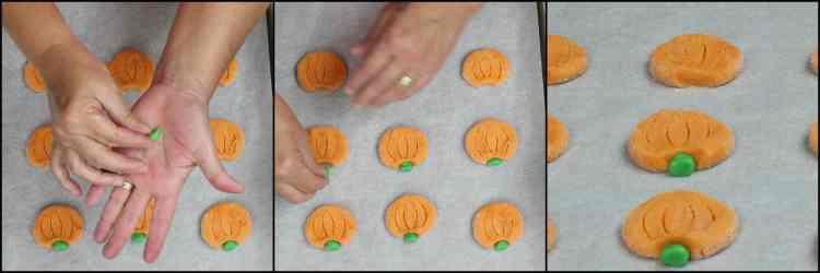 How to make Pumpkin Shaped Sugar Cookies | Kudos Kitchen by Renee