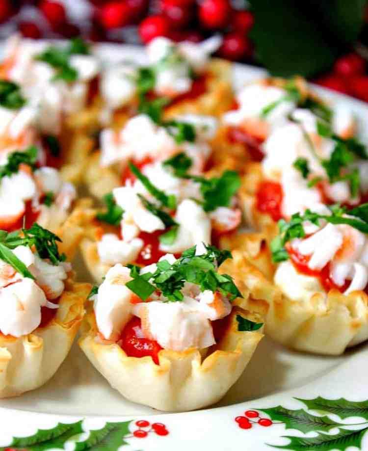 Festive Shrimp Cocktail Appetizer Bites | Kudos Kitchen by Renee