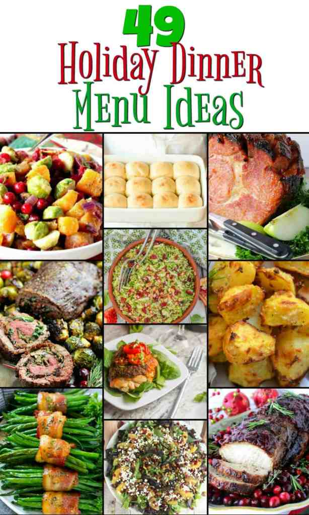 Holiday Dinner Menu Recipe Roundup Collage 2017   Kudos Kitchen by Renee