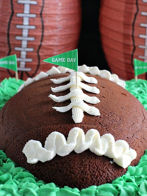 Football Shaped Food Roundup 2018 for Friday's Featured Foodie Feastings