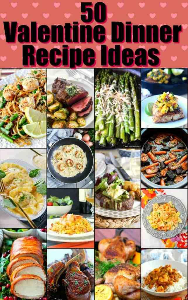 Valentine Dinner Recipe Roundup 2018