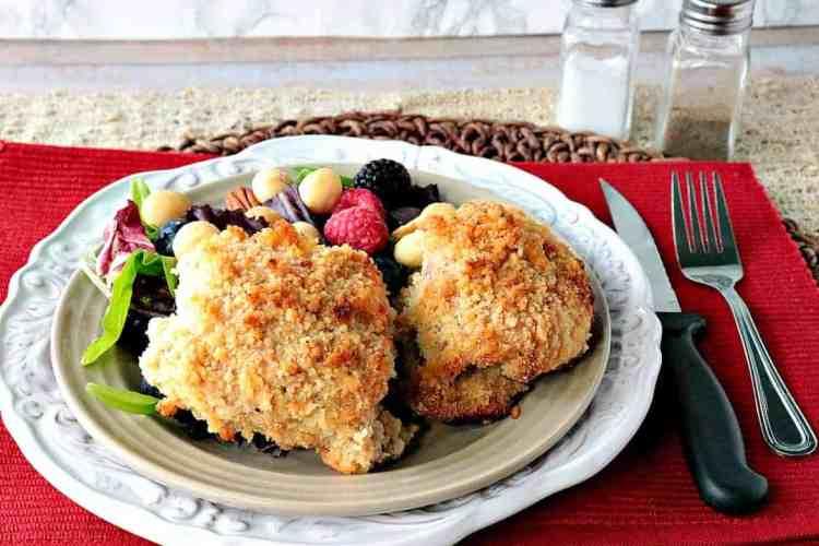 Gluten Free Macadamia Nut Chicken Thighs - kudoskitchenbyrenee.com