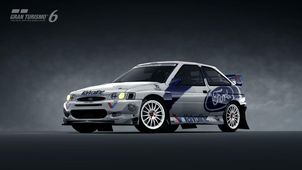 Ford Escort Rally Car 98  Gran Turismo 6  kudosprimecom