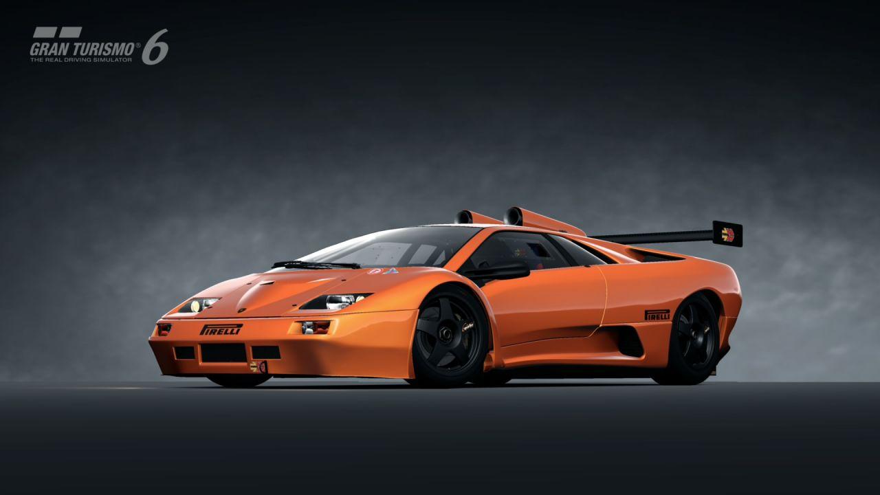Lamborghini Diablo GT2 98 Gran Turismo 6
