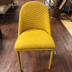 Yellow Upholstered Dining Chairs Accent At Homesense Alluring Chair Kudzu Antiques