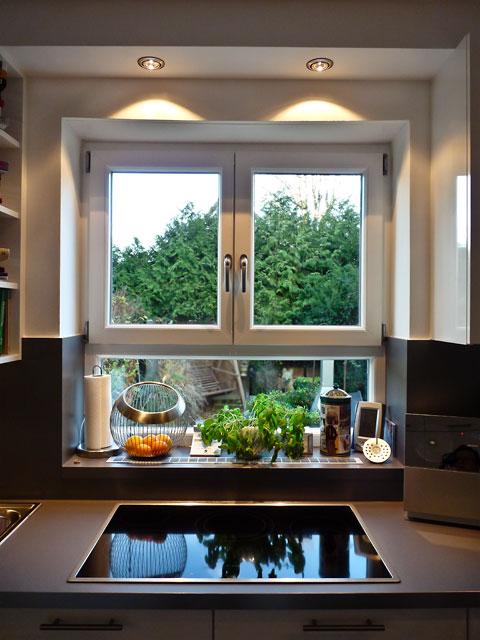 Licht fr die Kueche Beleuchtung ber dem Kochfeld mit LED
