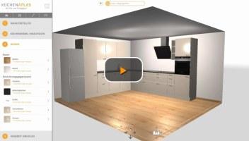 Küchenplaner online   Kostenlos, ohne Download und in 3D