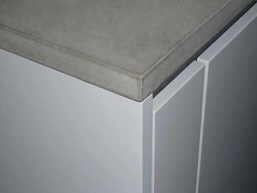 Betonarbeitsplatten  Pro und Contra Beton fr die Kche