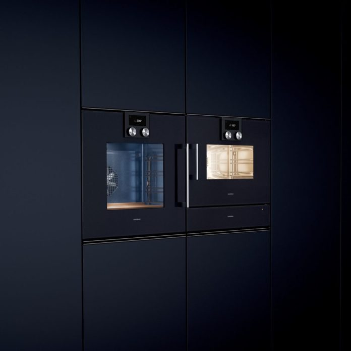 Steam ovens combine the healthy cooking process of steaming with the hot air of the oven, which provides extra gratinating and grilling. (Photo: Gaggenau)