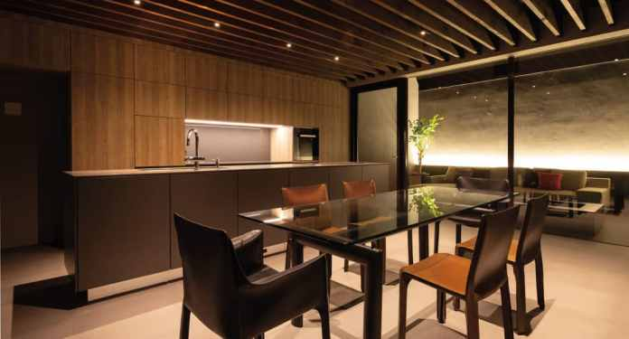Design in the spirit of Zen: this kitchen carried the