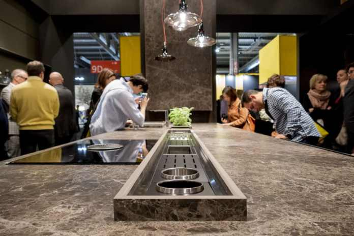 The EuroCucina 2020 is eagerly awaited in April: at the international kitchen trade fair, the innovations of the industry will be issued for the next two years. (Photo: Arrital)