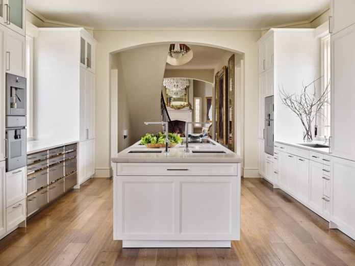 Classicistic chic in a great American style: a planner from America received the for this kitchen design of a SieMatic CLASSIC