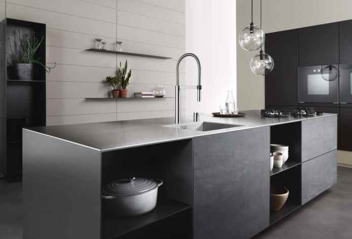 In 2020 all cards will be shuffled again: kitchen furniture will become home furniture manufacturers; Dishwashing and fitting specialists for kitchen builders. (Photo: BLANCO)