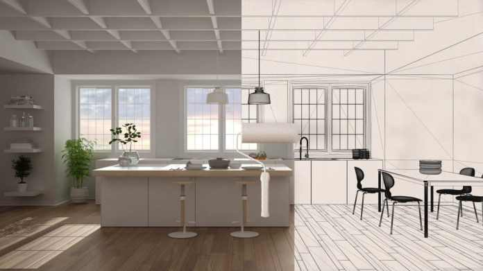 The renovation in the kitchen can finally be thought through. From replacing the devices or fronts to breaking through the wall and expanding the dining area, everything is possible - planners and fitters are ready. (Photo: adobe stock / ArchIVIZ)