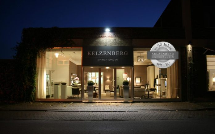 Great numbers: The Kelzenberg furniture store has been in family hands for around 97 years - and presents itself on an impressive 1,000 square meters in Düren. (Photo: Kelzenberg)