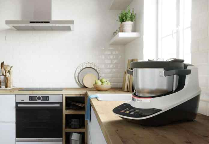 With its simple, clean design, the Cookit looks great with many kitchen styles. (Photo: Bosch)