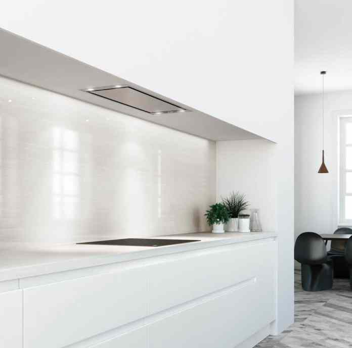 Undercounter hoods (or built-in hoods) are in the wall unit