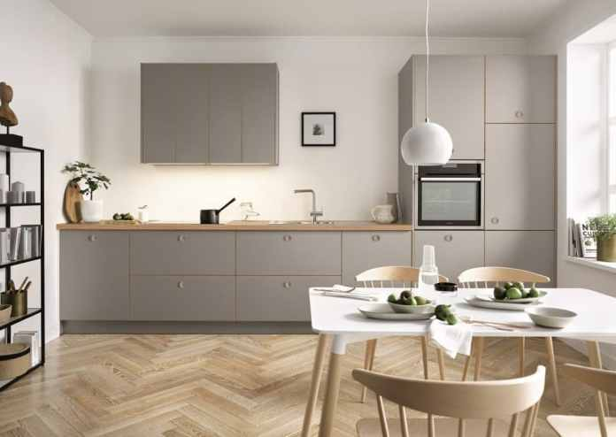 Kitchen manufacturer Schüller from Franconia appears with its own name in the entry-level segment and higher, but with next125 it also has a design brand in its range that is to be positioned in the luxury sector. (Photo: Schüller)