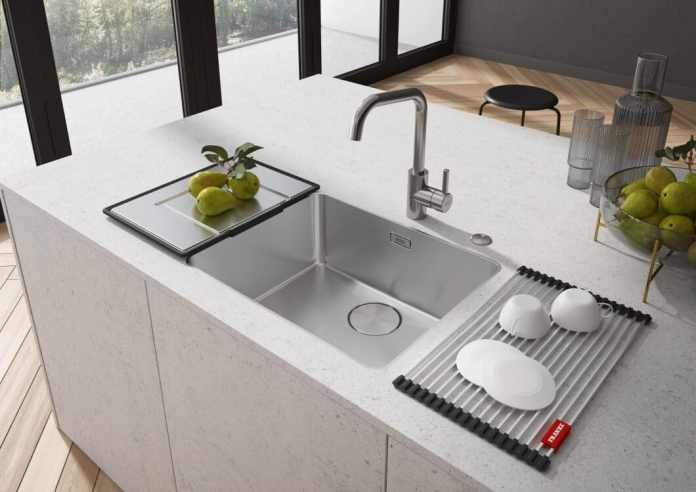 The new sink of the