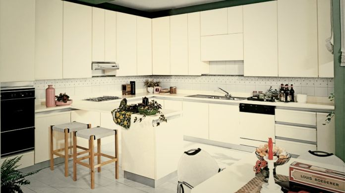 Scavolini oriented itself towards purist kitchen design from an early stage - here a model from 1975. (Photo: Scavolini)