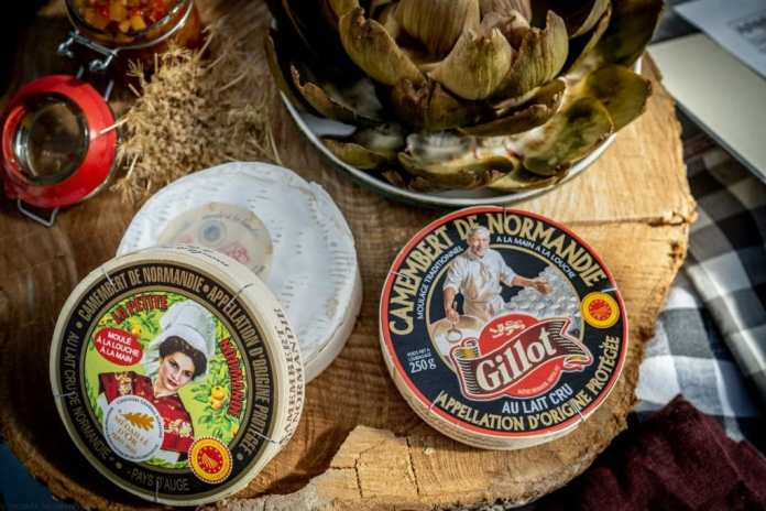 Camembert is world famous - and only comes with the AOC seal originally from Normandy.  Here it becomes particularly creamy with the addition of cream and long storage.  (Photo: Thomas Neumann)