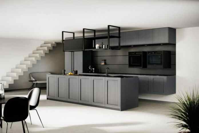 """Sustainable kitchens from Rotpunkt: a modern interpretation of the country house front, made from ecological chipboard """"BioBoard Gen2"""".  (Photo: Rotpunkt)"""