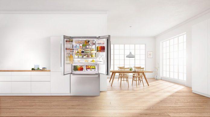Die Menschheit verlangt nach XXL - und Bosch liefert: pünktlich zum Wunsch nach mehr Lagerfläche und langanhaltender Frische präsentiert das Unternehmen seinen neuen XXL-Kühlschrank auf der IFA 2021. (Foto: Bosch)