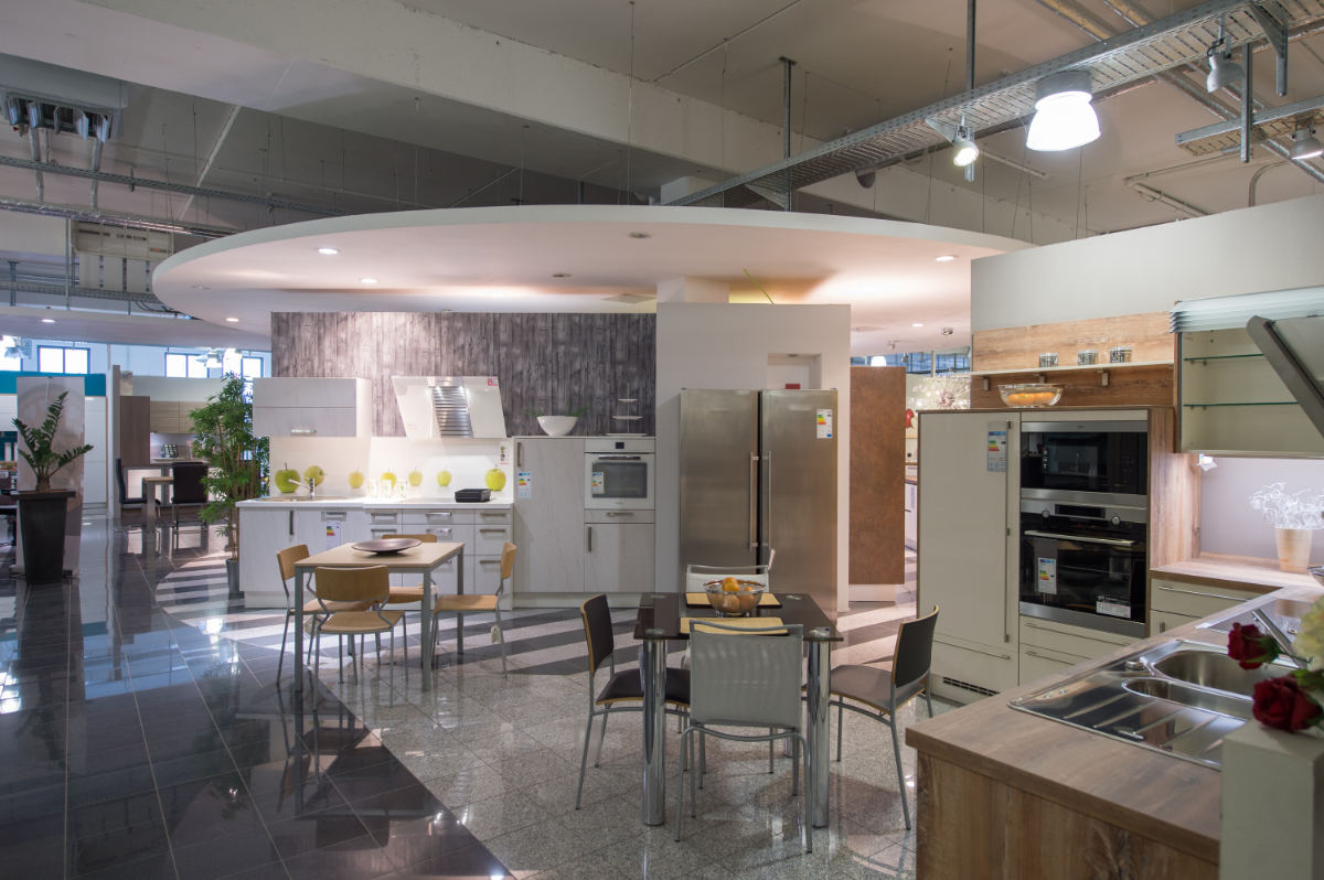 Ausstellung Küchen Herzer
