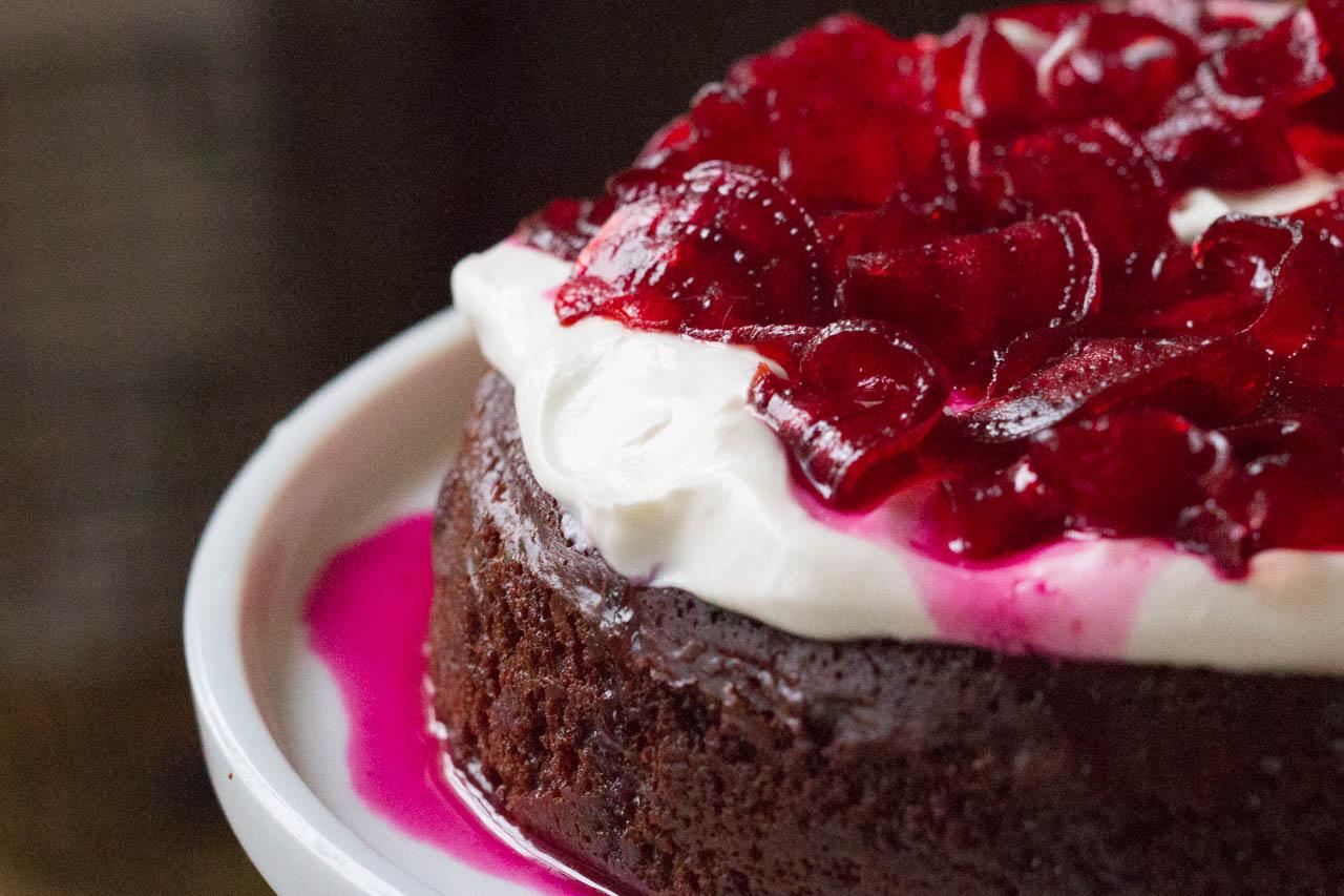 SchokoladenKuchen ohne Mehl  KchenMiezen BackBlog