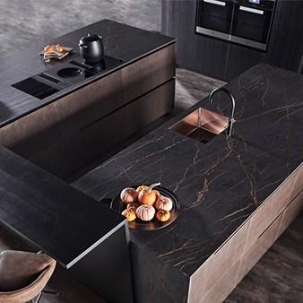 warendorf metallic küche steel copper