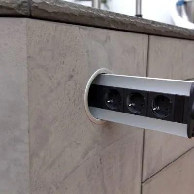 KchenSteckdosen mit  ohne USBAnschluss