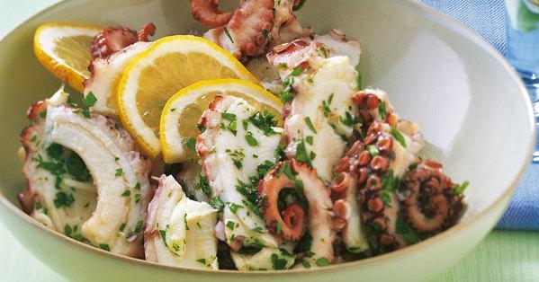 Tintenfischsalat italienische Art Rezept  Kchengtter