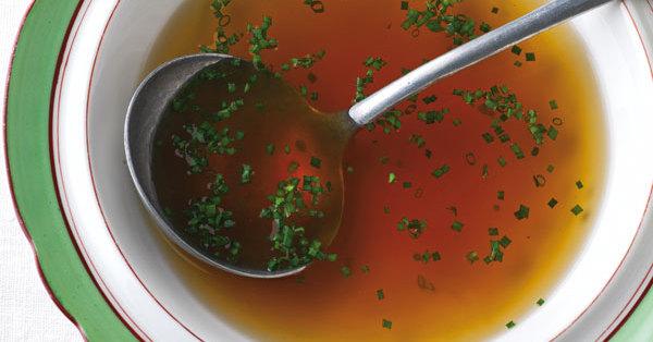 Rindsuppe Rezept  Kchengtter