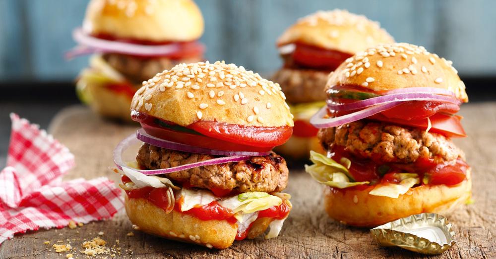 Fingerfood MiniHamburger Rezept  Kchengtter