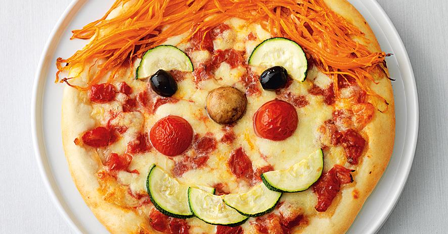 PizzaGesichter Rezept  Kchengtter