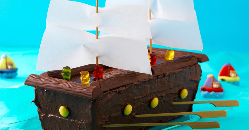 Piratenschiff Torte Rezept mit Bild  Kchengtter