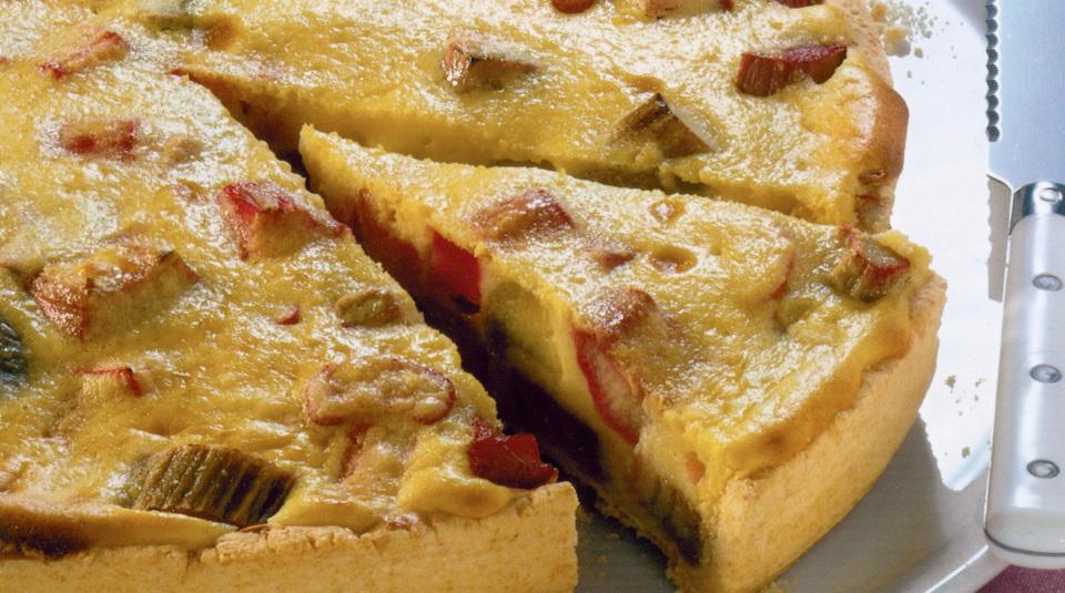 Rhabarberkuchen  Leichte Rezepte  Zubereitungstipps  Kchengtter
