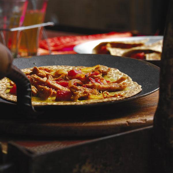 Indische HhnchenWraps Rezept  Kchengtter