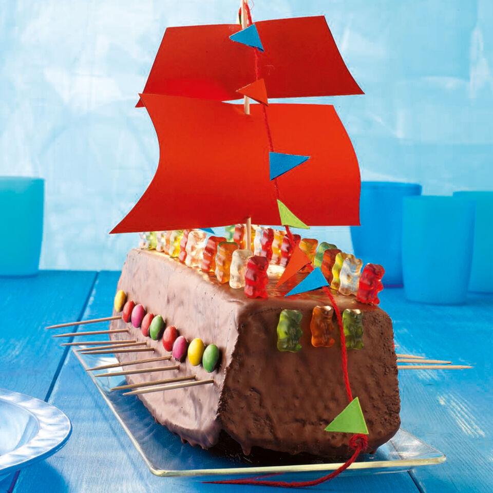 Wikingerschiff Torte Rezept mit Bild  Kchengtter