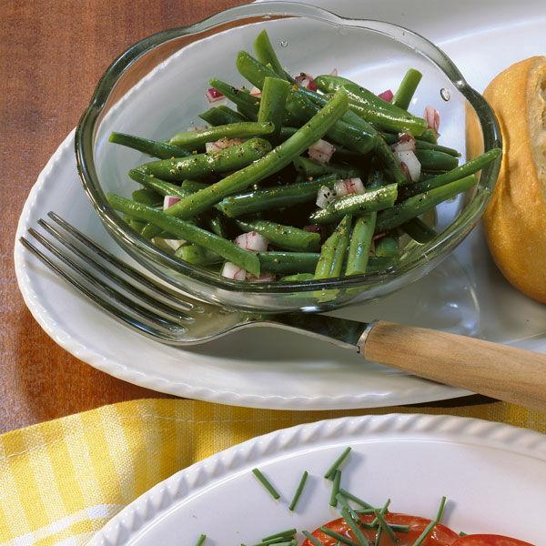 Grner Bohnensalat Rezept  Kchengtter