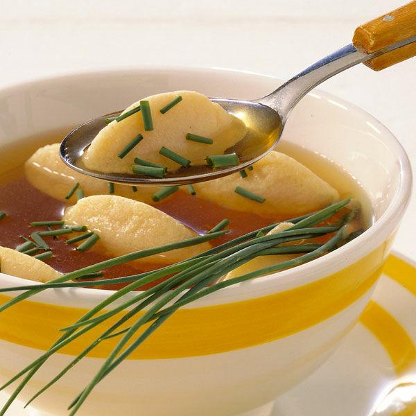 Grienockerlsuppe Rezept  Kchengtter